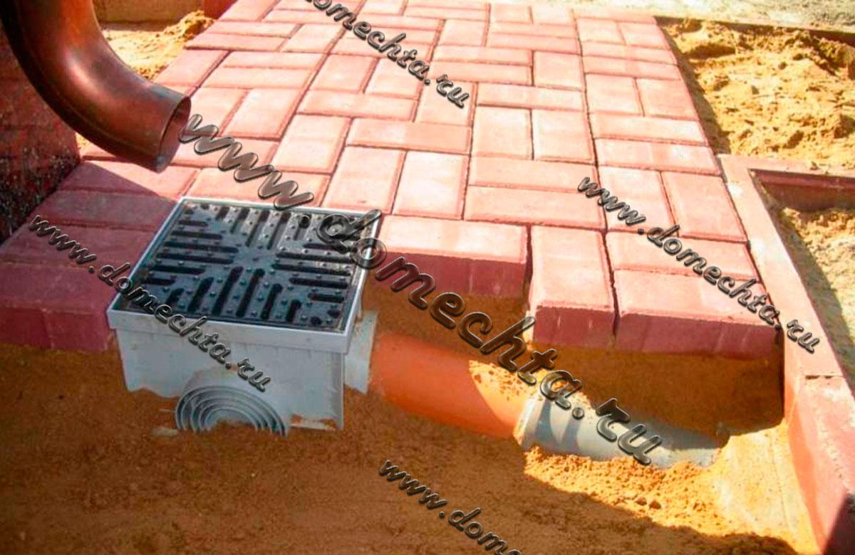 Водоотвод бетонный своими руками 142