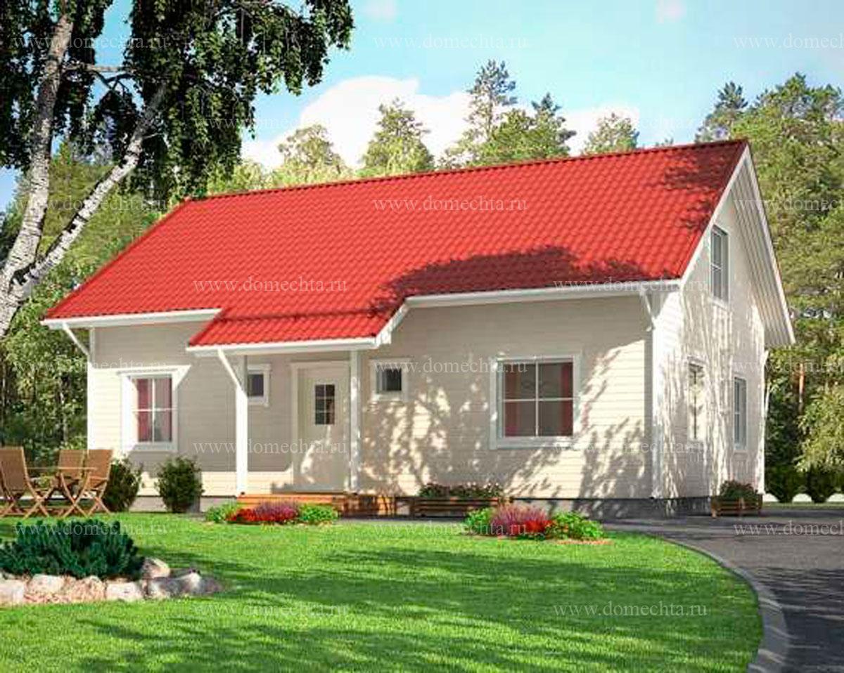Дом из блоков 134 м2