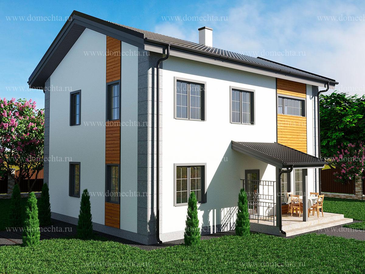 Дом из блоков 135 м2