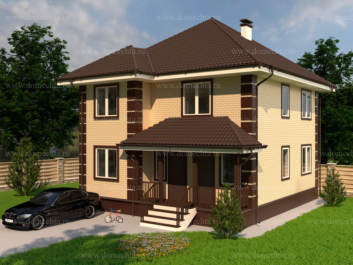 Дом из блоков 151 м2