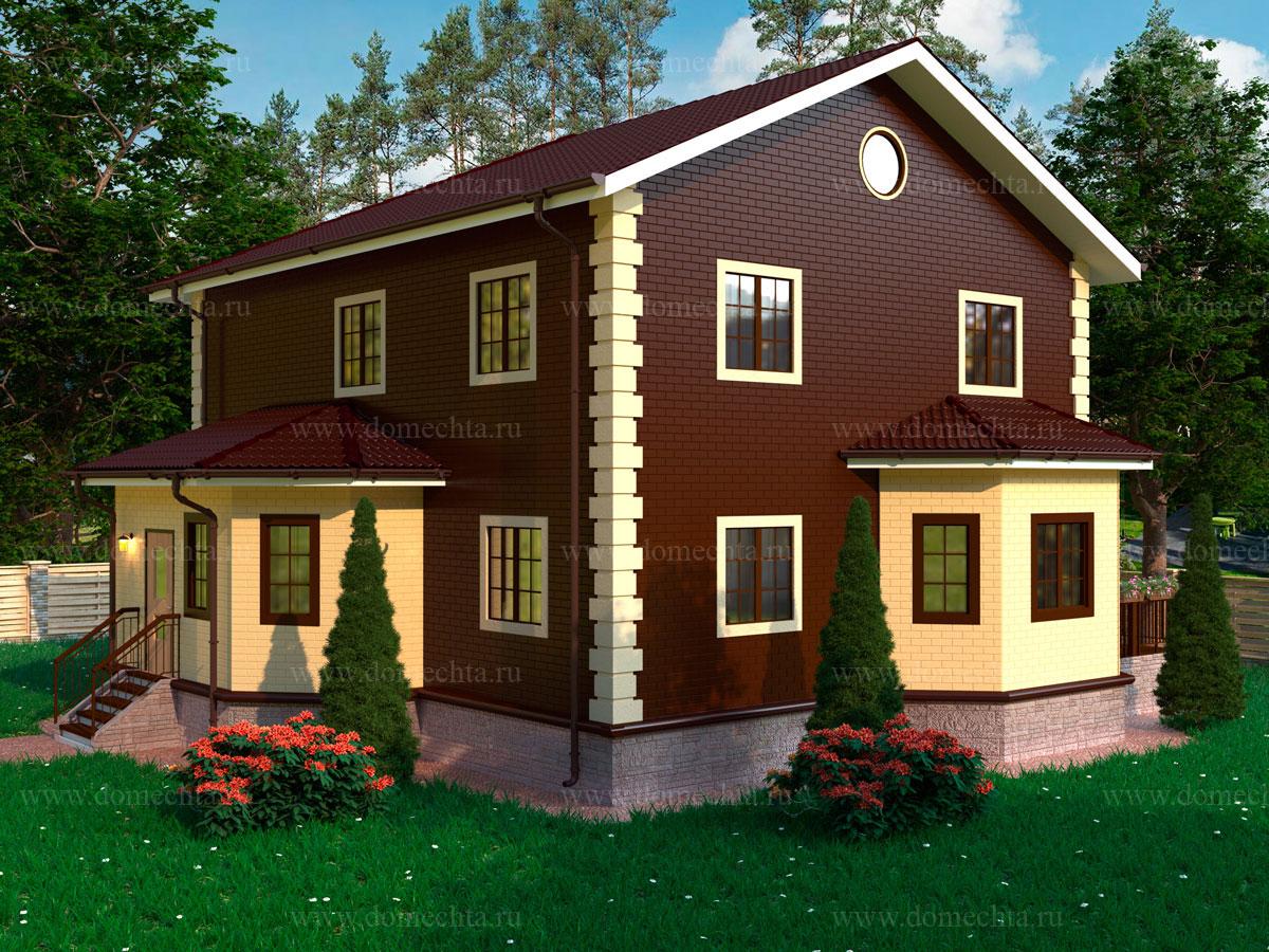 Дом из блоков 161 м2