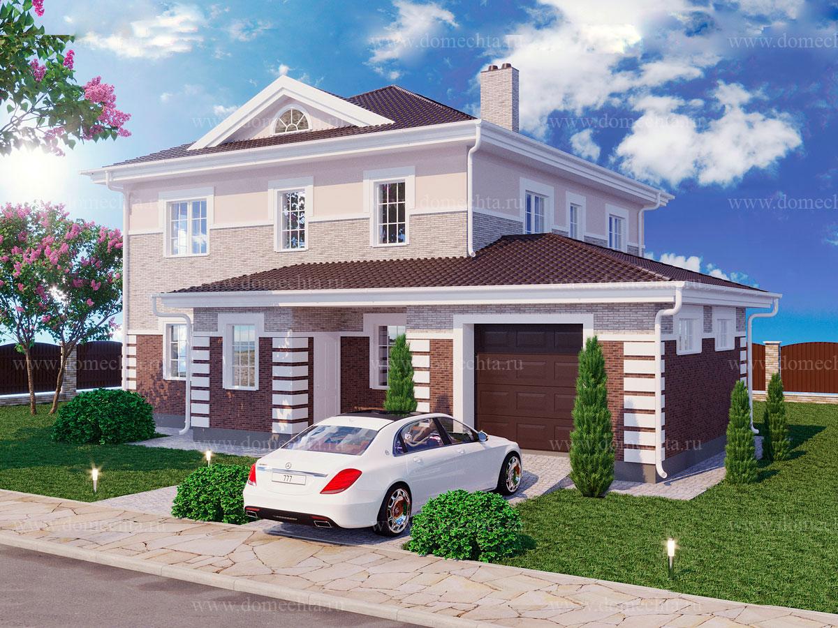 Дом из блоков 239 м2