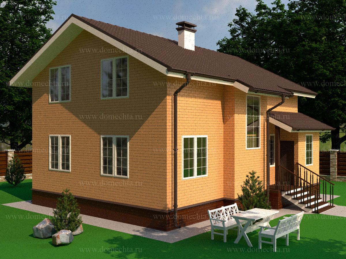 Каркасный дом 135 м2
